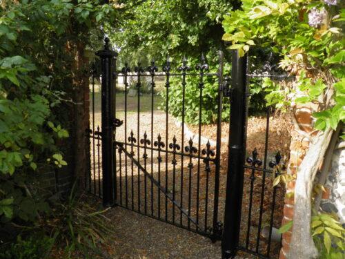church gate restoration
